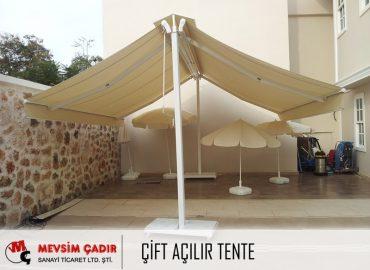 Çift Açılır Tente