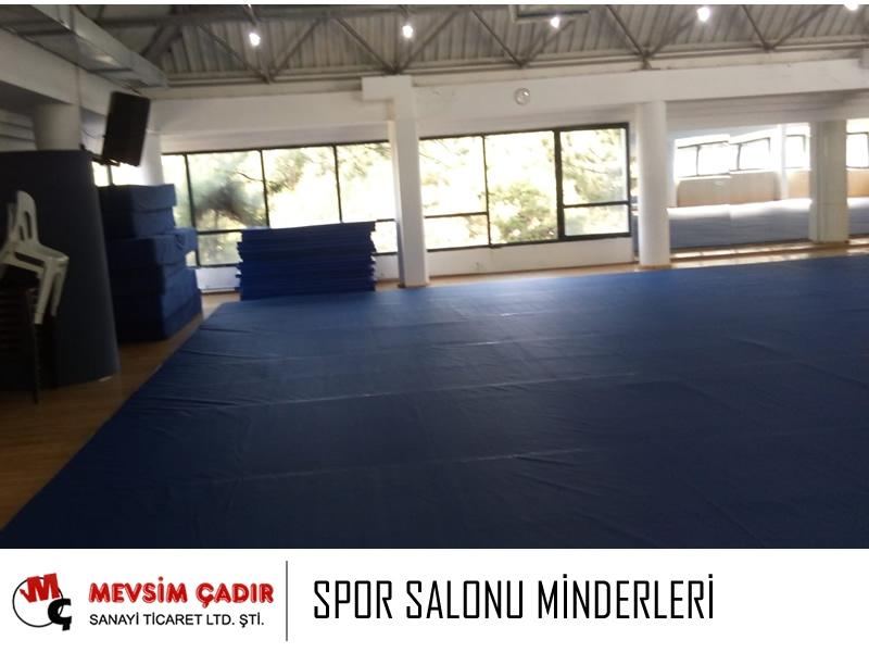 Spor Salonu Minderleri